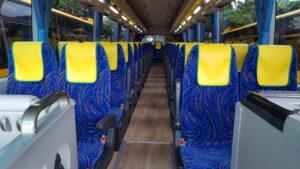 大型バス49シート通路画像