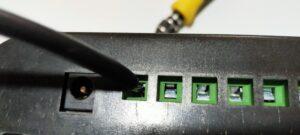 チャージコントローラープラス側接続