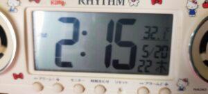 14:15分室内32度ソーラーパネルでエアコン実験スタート