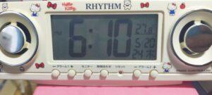 18:10エアコン開始から4時間27.8℃