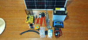太陽光発電を最低限で作る材料